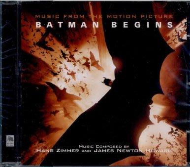 正版全新CD~蝙蝠俠 開戰時刻BATMAN BEGINS