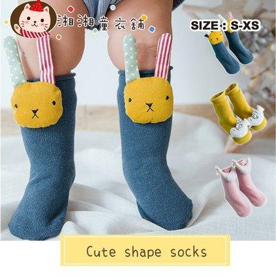 湘湘童裝童衣舖 【M0913】韓版 嬰兒襪 公仔嬰兒襪子 可愛防滑寶寶地板襪 嬰兒造型襪