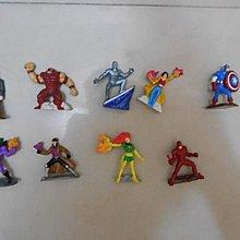 二手Zizzlinger mini ture collectible game pieces marvel系列9隻($15即賣)