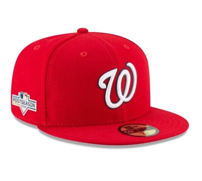 《FOS》New Era WASHINGTON NATIONALS 華盛頓國民 棒球帽 季後賽 美國職棒大聯盟 2019