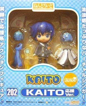 日本正版 GSC 黏土人 初音未來 KAITO 應援 Cheerful JAPAN限定 可動 模型 公仔 日本代購