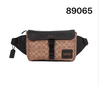 【Woodbury Outlet Coach 旗艦館】COACH 89065 Pacer腰包 胸包 美國代購100%正品