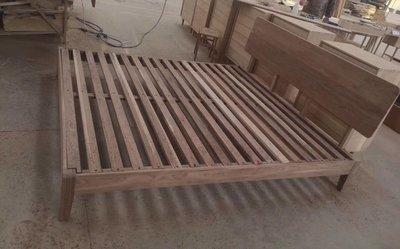 【順發傢俱】客製床架~全實木 ~部份地區免運費