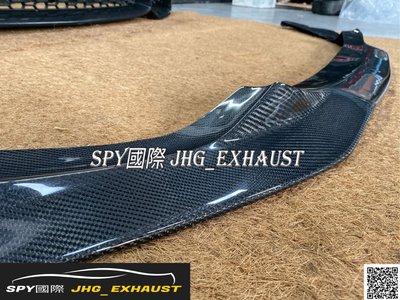 SPY國際 BMW F34 M4保桿專用 碳纖維前下巴