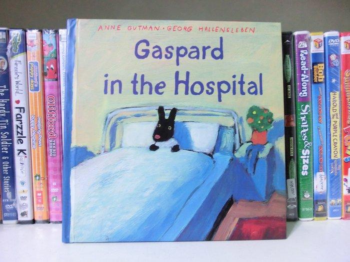 [兒童英語繪本]--Gaspard in the Hospital 卡斯柏生病住院了