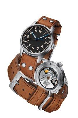 Stowa 經典古董飛行錶 自動上鍊機械錶 40mm