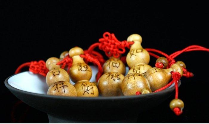 【螢螢傢飾】【五福臨門】桃木雕刻  福禄,平安,吉祥,如意,旺财,手機吊飾,招财辟邪吉祥物