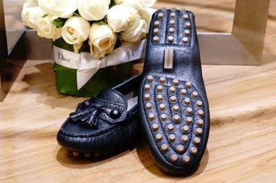 Balenciaga 巴黎世家 273245 Loafer 小羊皮豆豆鞋 1103 Anthracite 煤灰