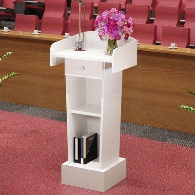 演講台迎賓台接待台主席臺髮言台講桌簡約現代主持台啟動講臺地台