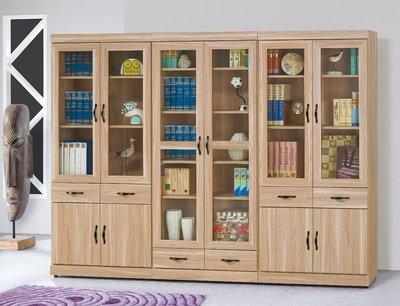【南洋風休閒傢俱】書架 書櫃 書櫥展示櫃 收納櫃 造形櫃 置物櫃系列-原切橡木浮雕3*6尺下抽書櫥CY413-821