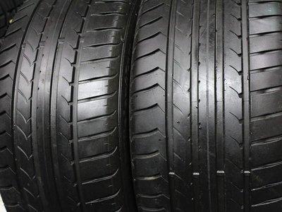 ~三重長鑫車業~中古 德國製 固特異 EFFICIENT 高性能轎跑胎 235/45/17 2條