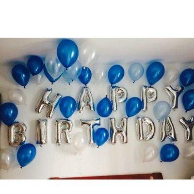 生日快樂氣球套餐 HAPPY BIRTHDAY 超商免運費 生日派對 生日party 夜店派對 好樂迪 皮卡丘 三眼怪