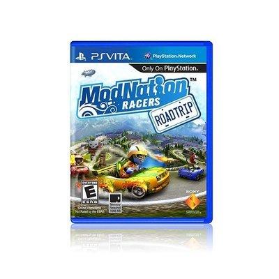 【二手遊戲】PSV 摩登大賽車 公路之旅 ModNation Racers 中文版 【台中恐龍電玩】
