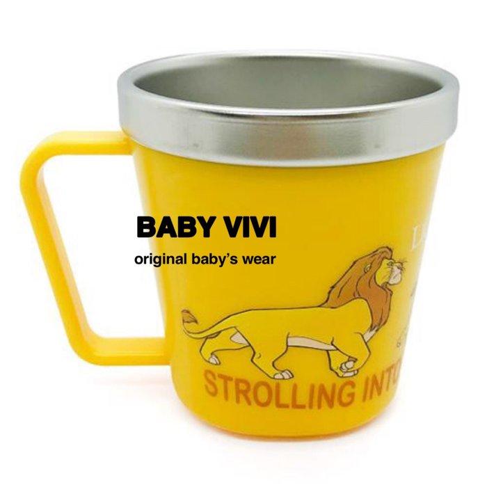 預購。正版授權獅子王兒童單耳杯304不銹鋼漱口杯(HBB90911-027)  *韓國空運