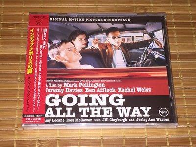 Going All The Way 青春迷航  1997年 日本原聲OST  全新未拆CD