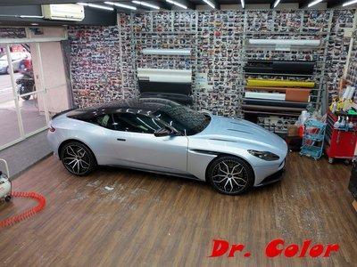 Dr. Color 玩色專業汽車包膜 Aston Martin DB11 亮面carbon_車頂 / 車拱 / 後視鏡