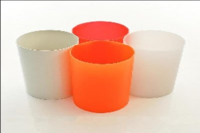 KARTELL 名牌全新垃圾桶 (亮橙色)