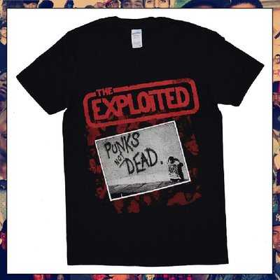 【三分之二】THE EXPLOITED Punks Not Dead  //復古潮流/Tee
