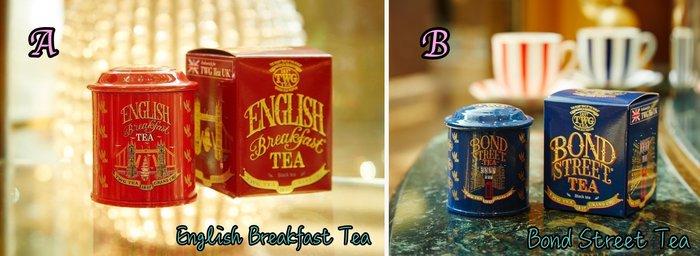 ArielWish英國不列顛TWG TEA倫敦塔橋限量版大笨鐘電話亭龐德街萊斯特伯爵茶早餐茶伯爵茶-八款組限定版最後一組