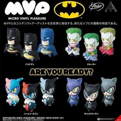 【單售】MVP 蝙蝠俠 造型公仔 盒玩 擺飾 小丑女 小丑 貓女 DC漫畫 日本正版 549583
