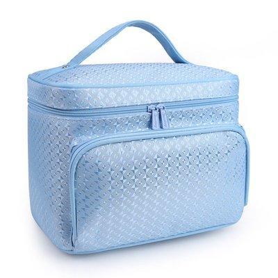 Ordinary shop化妝包大容量多 可愛便攜旅行大號護膚品多層收納盒化妝箱手提 彩妝用具 小仙女