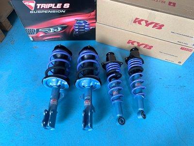 KYB NEW SR藍筒搭配TS短彈簧總成套件運動版套裝TOYOTA 豐田 COROLLA  ALTIS 9代 神A