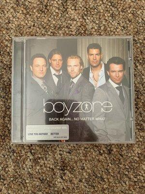 歐版CD《男孩特區》回到你身邊 精選 + 新歌 /BoyZone BACK AGAIN... NO MATTER WHA