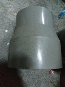 PVC硬管大小頭 4英吋轉5英吋  塑膠轉接頭_粗俗俗五金大賣場