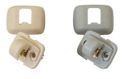 適應於奧迪A1A3A4LA5A6LQ3Q5遮陽板卡扣掛鉤 支架卡子SUNNY精品.~huaer