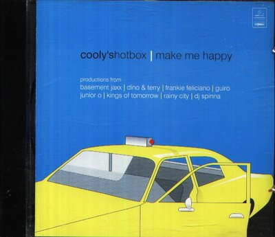 八八 - Cooly's Hot Box - Make Me Happy - 日版 CD