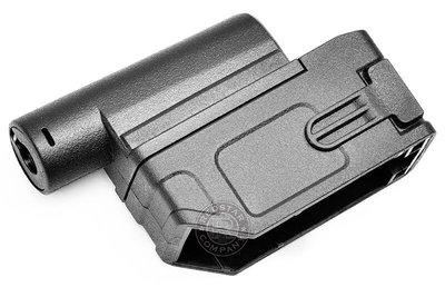 台南 武星級 戰斧 M4 轉 M870 散彈槍 彈夾 轉接器 ( BB槍衝鋒槍M4 M4A1步槍吃雞射擊散霧槍APS卡賓