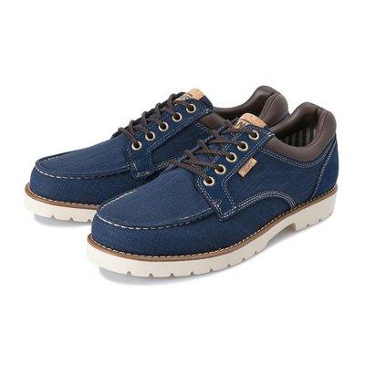 CHIEF' VANS 日版 ARAMAMENT MOC LO 海軍藍 亞麻布 低筒 麂皮 靴子 工作靴 輕量 休閒