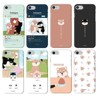 EGGSHIBA 柴犬家族 硬殼 手機殼│iPhone 5S SE 6 6S 7 8 Plus│z8925