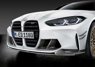 【樂駒】BMW G80 G82 G83 M-Performance 碳纖維前下巴 下擾流 原廠 改裝 空力套件
