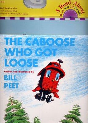 *小貝比的家*THE CABOOSE WHO GOT LOOSE /平裝書+CD /3~6歲/冒險想像