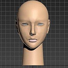 3d列印PLA材質布袋戲偶頭0款組合套件買一組送試做套件一組
