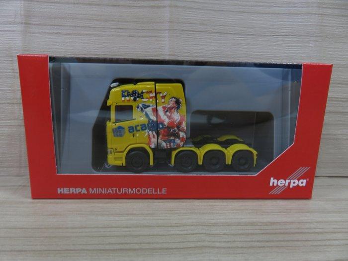 宗鑫貿易 Herpa H311724 Scania CS 20 HD 重型彩繪拖車頭