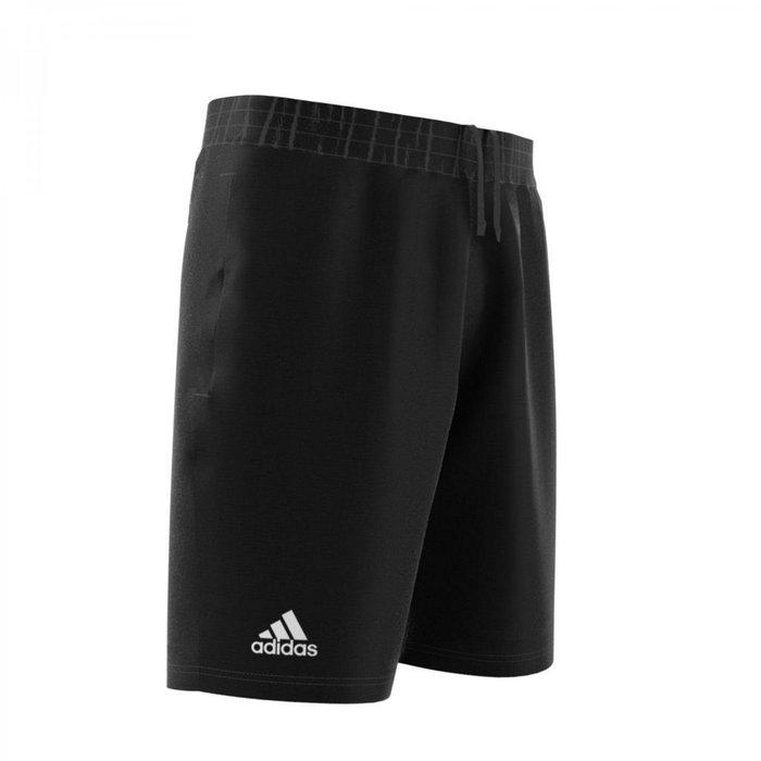 【鞋印良品】Adidas Climalite DU0877 吸汗排汗短褲 愛迪達 黑色運動短褲 網球短褲 尺寸S~2XL