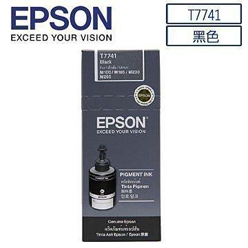4瓶免運 EPSON T774100 M100.M105.M200.M205.L655原廠連續防水黑色墨水