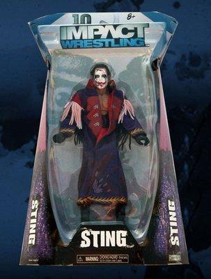 ☆阿Su倉庫☆WWE摔角 ShopTNA exclusive Sting Nervous Figure STING瘋狂世界限定款人偶 熱賣特價中