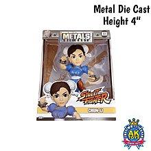 AK Toys - Street Fighter 街霸 街頭霸王 Metals Die Cast 合金 約4寸高 Chunli 春麗