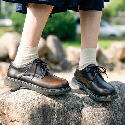 娃娃鞋牛津鞋休閒鞋 英倫小皮鞋女韓版百搭學生復古單鞋2019新款春秋日系學院風馬丁靴