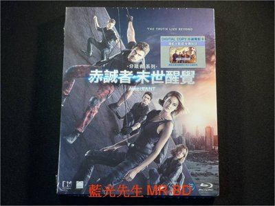 [藍光BD] -分歧者3:赤誠者 (赤誠者末世醒覺) The Divergent Series : Allegiant