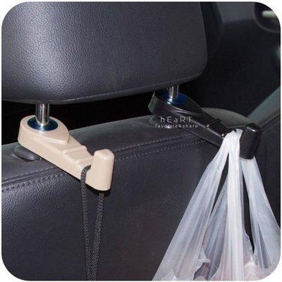 【可愛村】 輕便易收納車用座椅掛勾 承重8kg 汽車掛勾 椅背掛勾 掛鉤