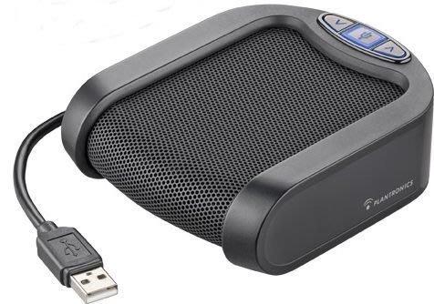 含稅 Plantronics Calisto P420免提電話視頻會議USB擴音器,麥克風 SKYPE LINE視訊會議