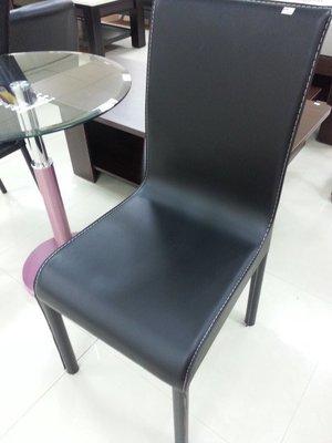 新竹二手家具店來來-全新馬鞍黑色皮餐椅 超讚 新竹搬家服務 二手傢俱買賣 沙發 書櫃 衣櫥 冰箱 洗衣機 中古家電收購
