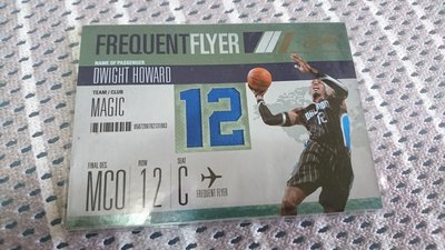 2010-11 Panini Absolute Dwight Howard Frequent Flyer /25