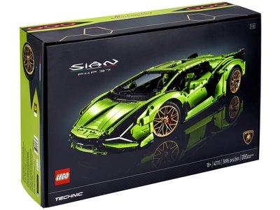 最後現貨 樂高 LEGO 42115 藍寶堅尼 Lamborghini 1/8 Sián FKP 37 3696pcs