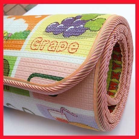 【易發生活館】新品熱銷千件!嬰兒童寶寶爬行墊爬爬墊爬行毯韓國泡沫地墊加厚1cm2cm雙面遊戲毯 寶寶學習墊