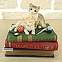 點點蘑菇屋 歐洲精品可愛貓咪毛線球珠寶盒 ...